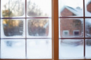window condensation in the winter