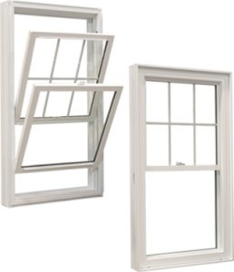 Double or single hung windows
