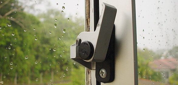 window latch safety